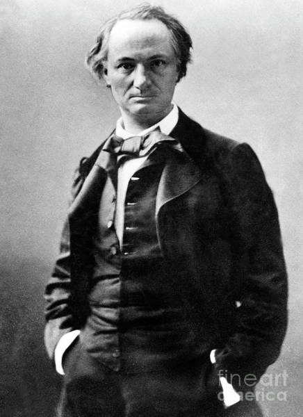 Wall Art - Photograph - Nadar Portrait Of C Baudelaire by Nadar