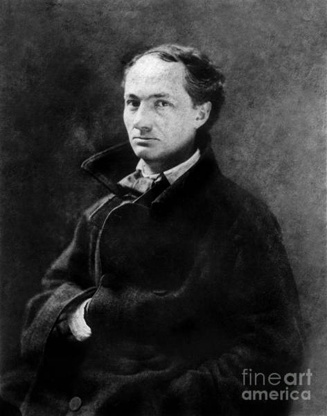 Wall Art - Photograph - Nadar Studio Portrait Of Baudelaire by Nadar