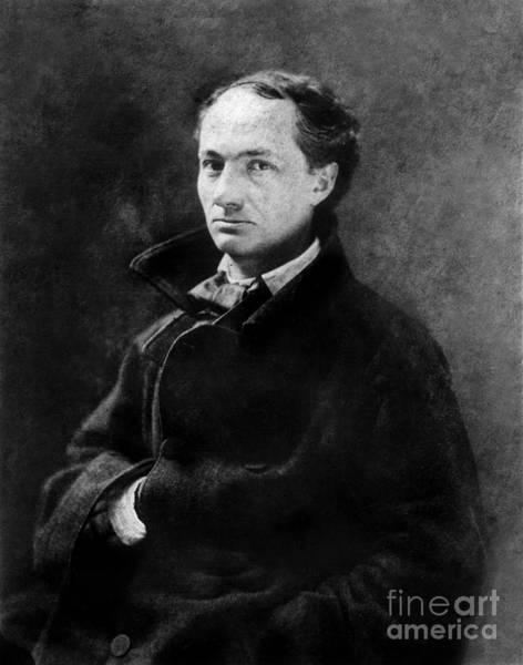 Wall Art - Photograph - Nadar Studio Portrait Of Baudelaire by Nadar