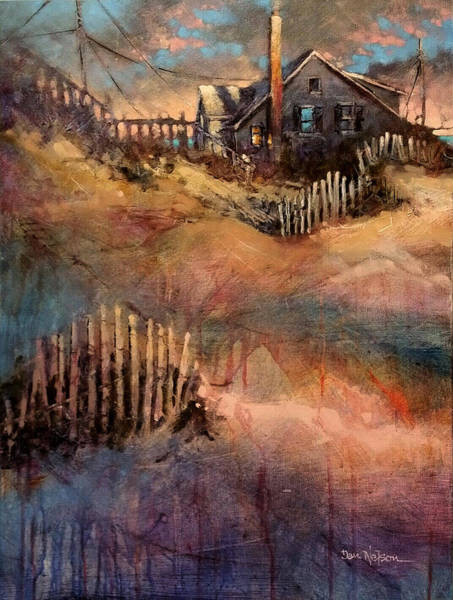 Wall Art - Painting - Nags Head Sunrise by Dan Nelson