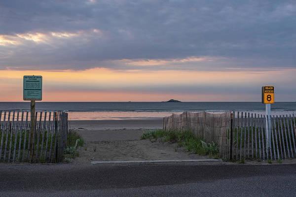 Wall Art - Photograph - Nahant Beach Access 8 To Egg Rock Nahant Ma Sunrise by Toby McGuire