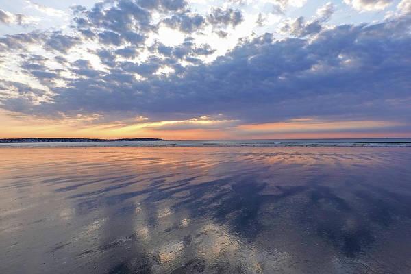 Wall Art - Photograph - Nahant Beach Sunrise Reflection Nahant Ma by Toby McGuire