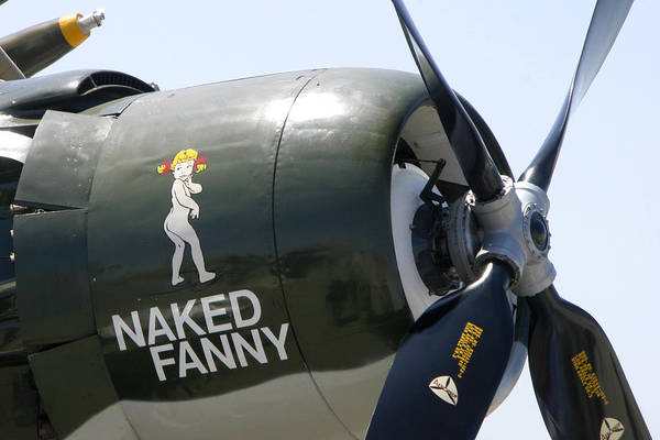 Photograph - Naked Fanny by Anthony Jones