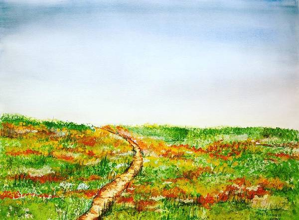 Painting - Namaqualand by Mary Rimmell