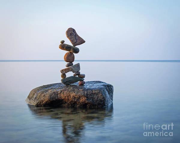 Sculpture - Zen Stack #9 by Pontus Jansson