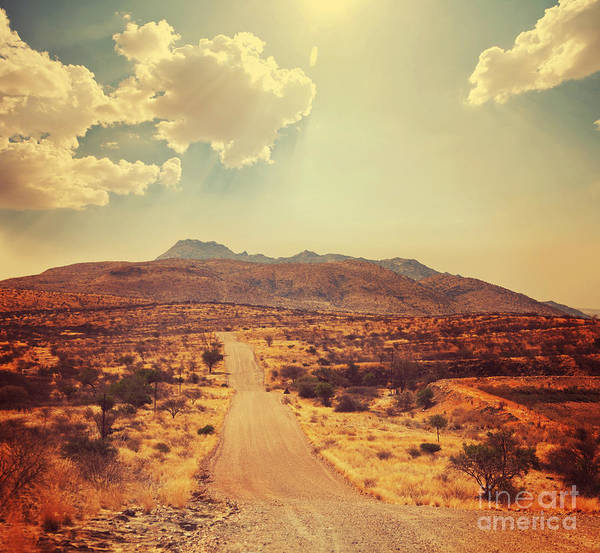 Wall Art - Photograph - Namibian  Landscape by Galyna Andrushko
