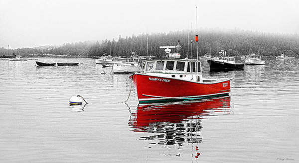 Photograph - Nampys Pride Stonington Maine by Marty Saccone