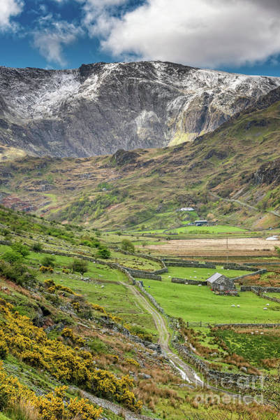 Wall Art - Photograph - Nant Ffrancon Pass Wales by Adrian Evans