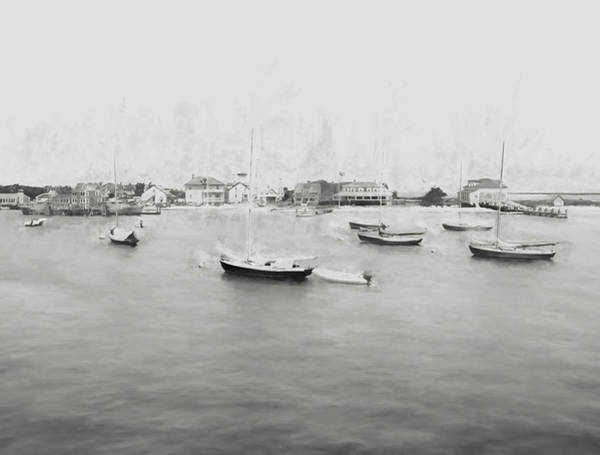 Wall Art - Digital Art - Nantucket 4 by Tina Baxter