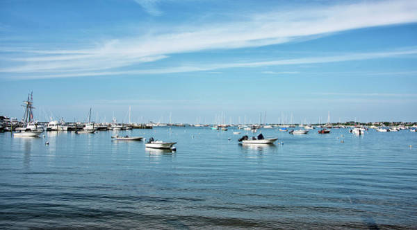 Wall Art - Photograph - Nantucket Boat Basin And Harbor - Nantucket Island by Brendan Reals