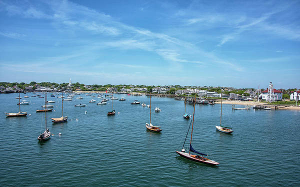 Wall Art - Photograph - Nantucket Harbor And Boat Basin - Nantucket Massachusetts by Brendan Reals