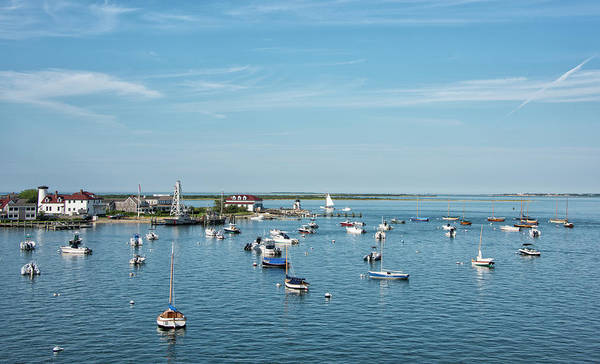 Wall Art - Photograph - Nantucket Harbor And Brant Point by Brendan Reals