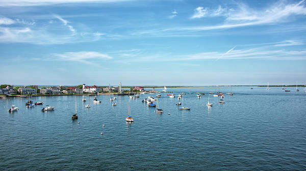Wall Art - Photograph - Nantucket Harbor And Brant Point - Massachusetts by Brendan Reals