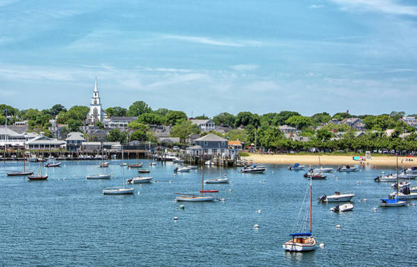 Wall Art - Photograph - Nantucket Harbor And Childrens Beach - Nantucket Massachusetts by Brendan Reals