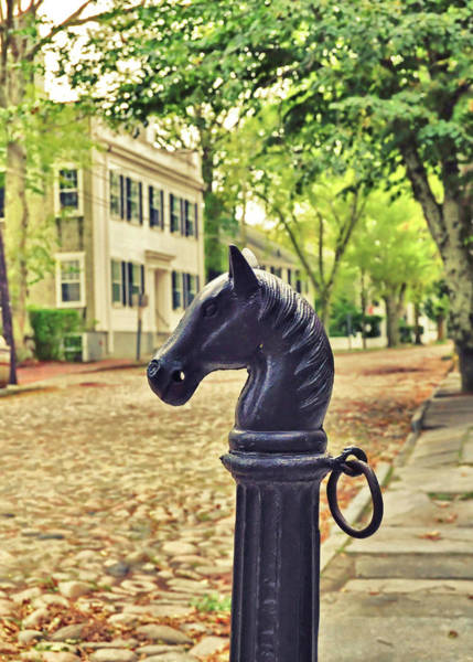 Photograph - Nantucket Hitching Post by JAMART Photography