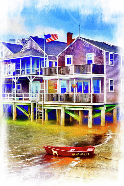 Photograph - Nantucket Series 6140 by Carlos Diaz