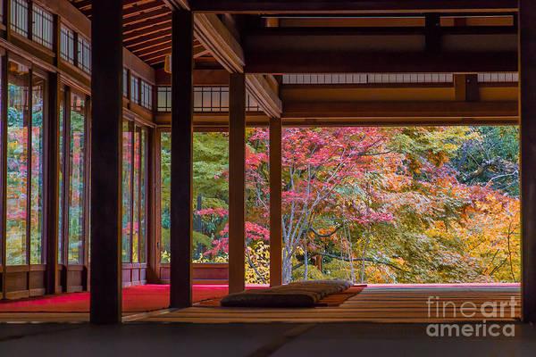 Zen Wall Art - Photograph - Nanzenji Temple Tenjyuan Of Autumn by Ryu K