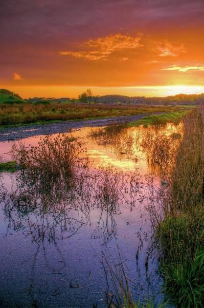 Napa Valley Photograph - Napa Valley At Sunset by Joseph Burke