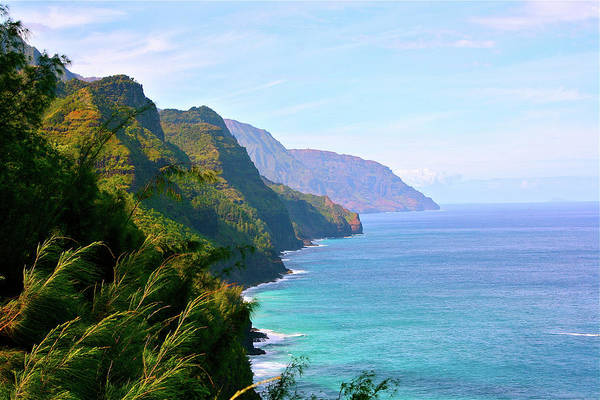 Hawaii Islands Photograph - Napali by Sean M. Murphy Photography