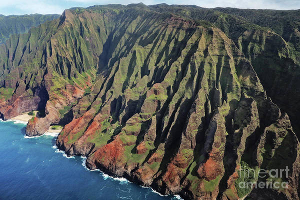 Wall Art - Photograph - Napili Coast From The Air by Sylvia Cook
