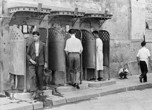 Toilet Photograph - Naples Toilets by Erich Auerbach