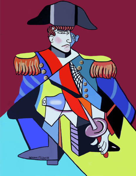Painting - Napoleon by Anthony Falbo