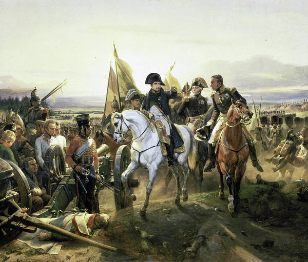 Wall Art - Painting - Napoleon At The Battle Of Friedland, 1807 by Horace Vernet