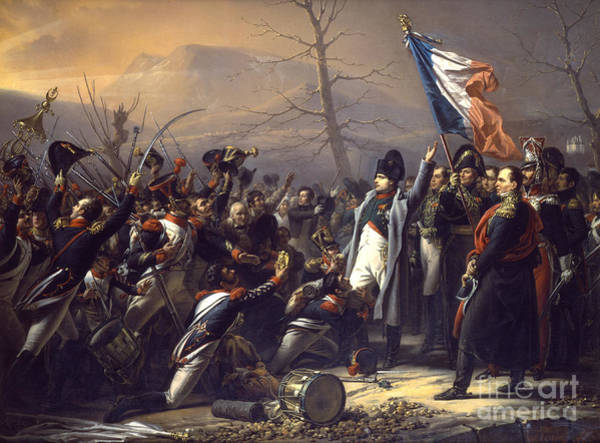 Wall Art - Painting - Napoleon Returning From Elba by Charles Auguste Steuben