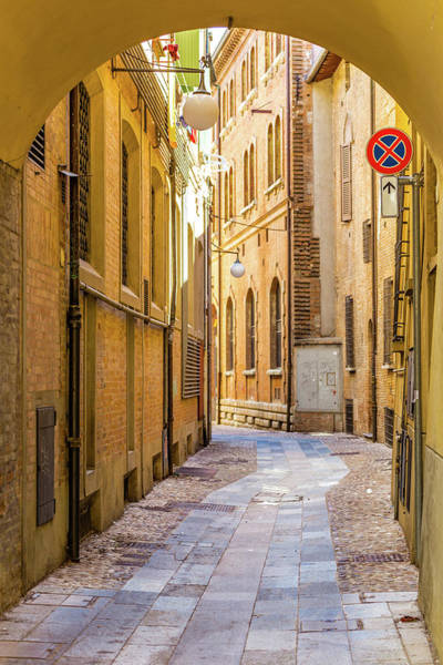 Wall Art - Photograph - Narrow Alley In Medieval Town by Gone With The Wind