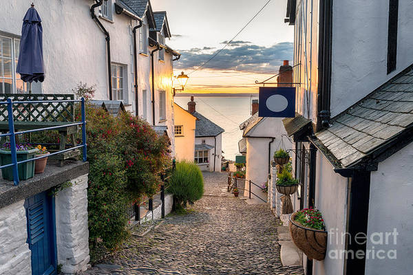 Britain Photograph - Narrow Cobbled Streets Lined With by Helen Hotson