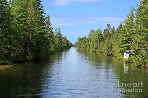 Wall Art - Photograph - Narrow Cut On The Trent Severn Waterway by Louise Heusinkveld
