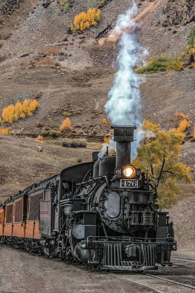 Wall Art - Photograph - Narrow Guage Locomotive by Dawn Key