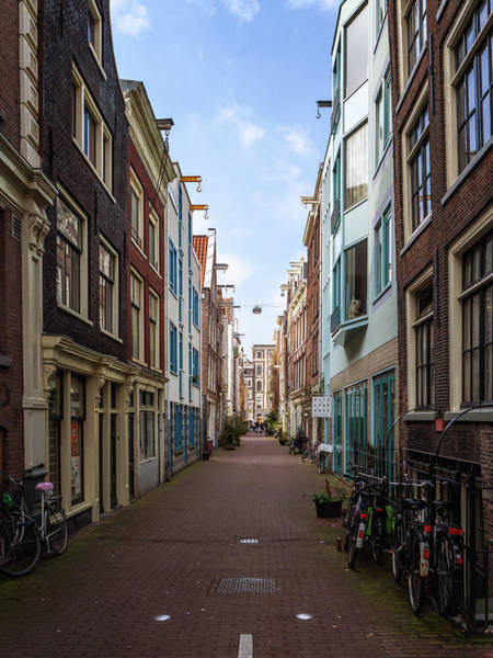 Photograph - Narrow Street by Framing Places
