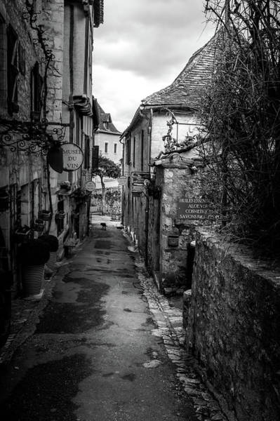 Photograph - Narrow Streets Of Saint Cirq Lapopie by Georgia Fowler