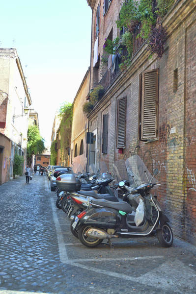 Photograph - Narrow Streets Of Trastevere by JAMART Photography