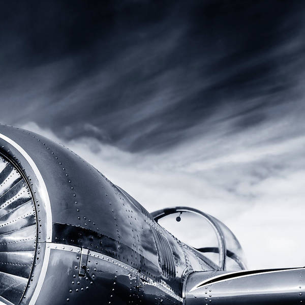 Cockpit Photograph - Narrow View On Sporting Plane by Elisabeth Schmitt