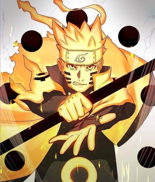 Wall Art - Digital Art - Naruto  by Geek N Rock