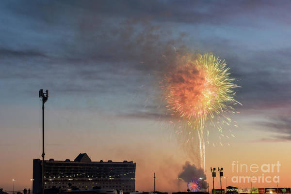 Fourth Of July Photograph - Nascar Celebration by Paul Quinn