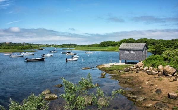 Wall Art - Photograph - Nashaquitsa Pond On Martha's Vineyard by Brendan Reals