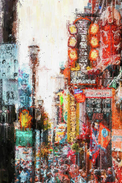 Painting - Nashville, Tennessee - 02 by Andrea Mazzocchetti