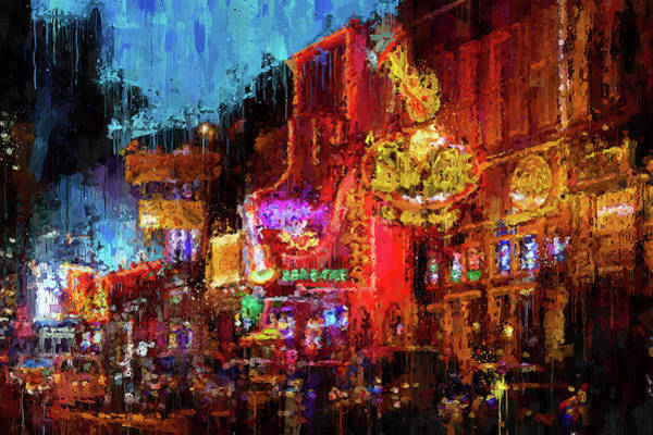 Painting - Nashville, Tennessee - 07 by Andrea Mazzocchetti