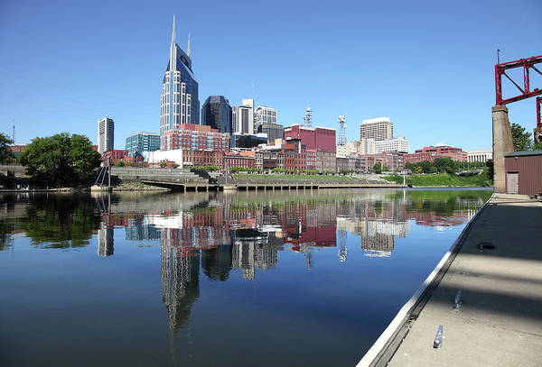 Cumberland Photograph - Nashville Tennessee by Denistangneyjr