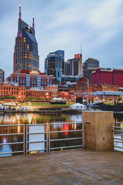 Wall Art - Photograph - Nashville Tennessee From The Docks Of The East Bank by Gregory Ballos