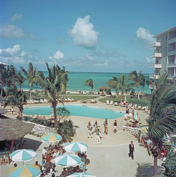 Wall Art - Photograph - Nassau Beach Hotel by Slim Aarons