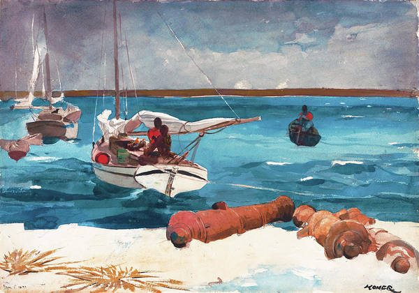 Wall Art - Painting - Nassau - Digital Remastered Edition by Winslow Homer