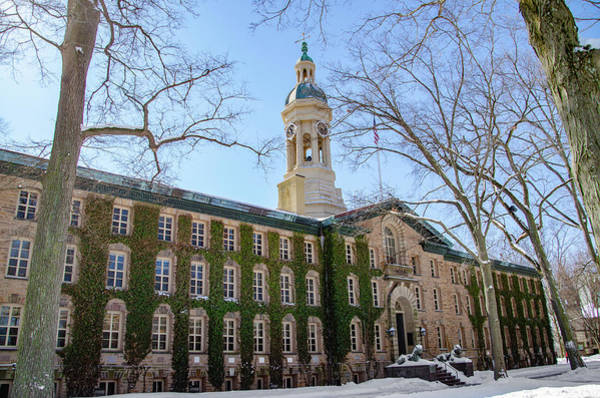 Photograph - Nassau Hall Princeton New Jersey In The Snow by Bill Cannon