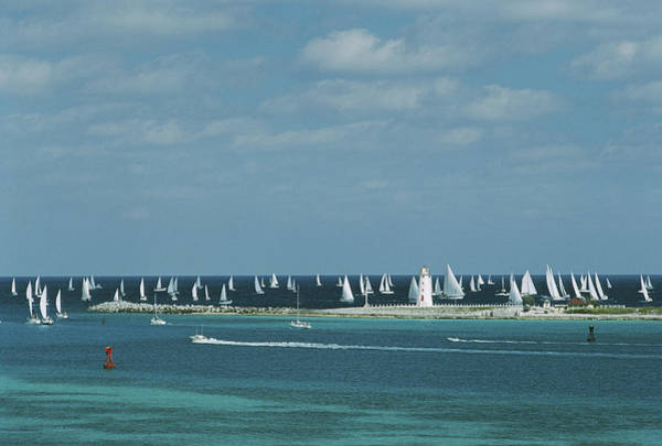 Large Photograph - Nassau Sailing by Slim Aarons
