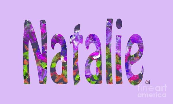 Digital Art - Natalie by Corinne Carroll