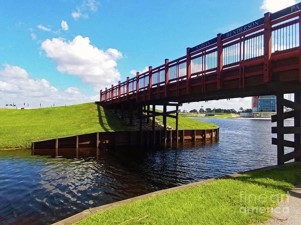 Photograph - Nathan Benderson Bridge by Gary Wonning