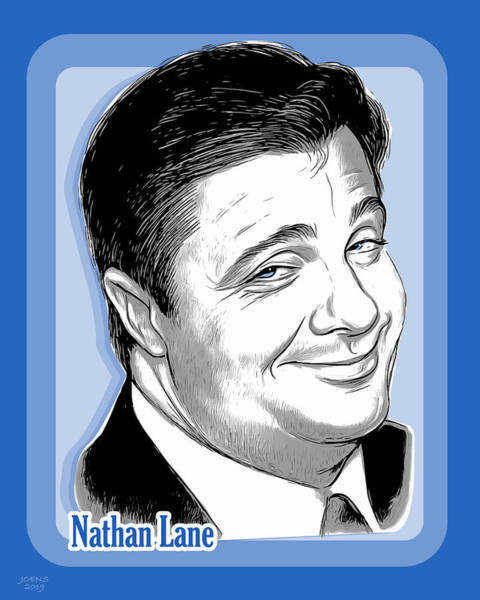Wall Art - Digital Art - Nathan Lane 2 by Greg Joens